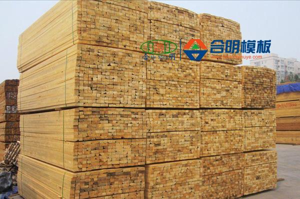加勒比松木方_建筑木方_漳州合明木业福建建筑模板厂